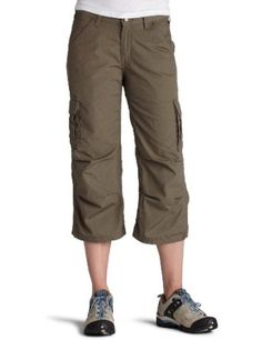 Carhartt Women's Ripstop Cropped Cargo Pant,Driftwood,0 Carhartt. $53.99