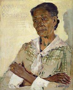 Anna Washington Derry by Laura Wheeler Waring / Museum of American Art, Smithsonian Institution