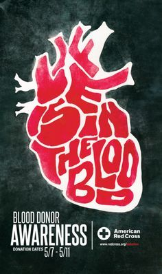 006 A poster I designed for the blood donation event in