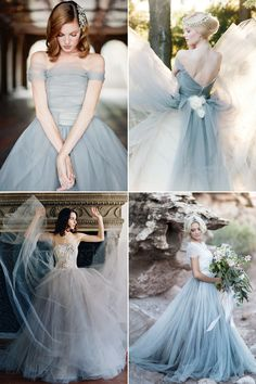 The Ultimate Collection of Something Blue! 30 Dreamy Blue Gowns You'll Fall In Love With!