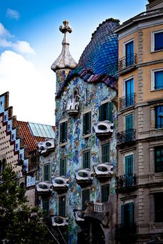 Casa Botillo en Barcelona. Photo by Vladimir Demin