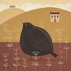 Big Black Bird  by Catriona Hall