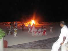 Bonfire on the beach in Jamaica @ the Iberostar Rose Hall Suites! Doing this 100%