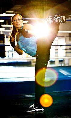 Kickboxing #pastafitsme