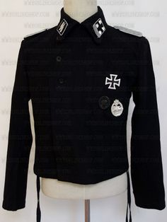Replica of German WWII Wehrmacht Panzer Uniform for Sale