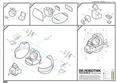 Dr.Robotnik Concept model by Phil Ellis, via Behance