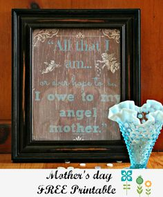 #Mother's day #free #printable
