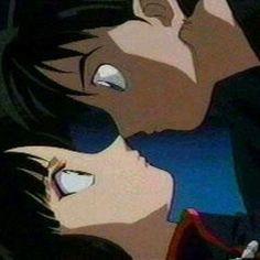 Miroku and Sango: Kiss the girl!
