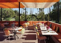 The Parker, Palm Springs. Adorable.
