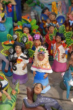 From the workshop of Josefina Aguilar of Ocotlan de Morelos, Oaxaca Mexico