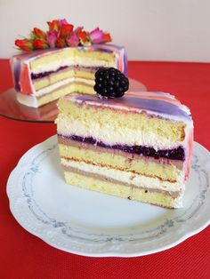 Just Cakes, Cakes And More, Food Cakes, Cupcake Cakes, Romanian Desserts, Romanian Food, Cake Receipe, Mousse Cake, Sweets Recipes