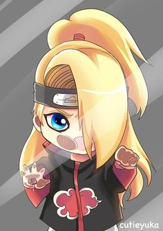 Deidara Homelock by cutieyuka.deviantart.com on @DeviantArt