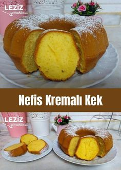 Delicious Cream Cake - My Delicious Food - Muffin Recipes, Breakfast Recipes, Sweet Potato Chili, Food Staples, Cream Cake, Tasty Dishes, Holiday Recipes, Yummy Food, Chocolate