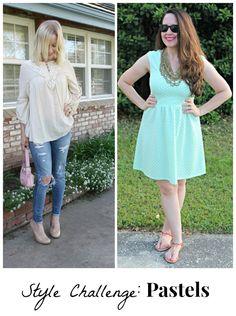 how to wear pastels - Bonbon Rose Girls