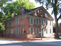Historic New Castle, one of the sites featured along the Delaware History Trail.