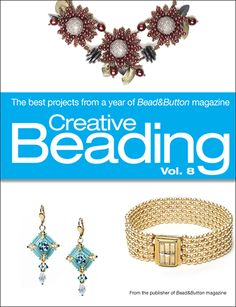 57 best beading books images on pinterest beaded jewelry editors of creative beading vol the best projects from a year of beadbutton magazine jetzt kaufen fandeluxe Images