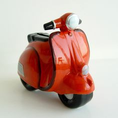 Mini Motorbike Piggy Bank