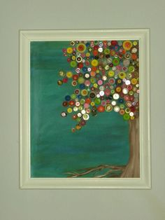 Button tree  I love buttons!!!