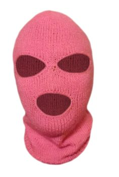Hey, I found this really awesome Etsy listing at https://www.etsy.com/listing/173016981/knit-pink-ski-mask-for-woman-handmade-3