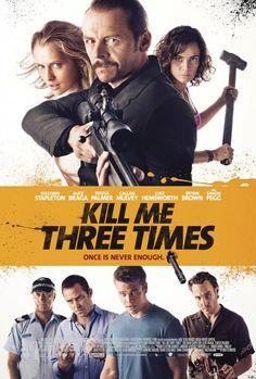 Kill Me Three Times Cover Poster Art