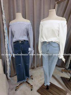 2016 New Spring Women Shirts Full Sleeve Striped Evilsd Off-the-shoulder Blouse Shirt White Blue 1806