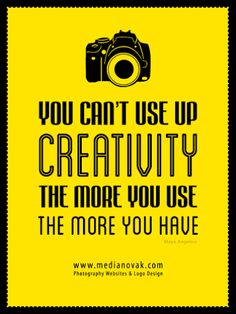 Photography and creativity quote Passion Photography, Funny Photography, Quotes About Photography, Photography Website, Lifestyle Photography, Great Quotes, Quotes To Live By, Life Quotes, Inspirational Quotes
