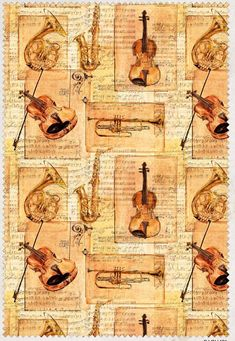 music fabric, Musical instrument fabric, trumpet fabric, violin fabric, French horn fabric, music notes, quilting fabric, symphony