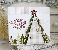 Merry Christmas To You Card by Melissa Phillips for Papertrey Ink (September 2015)