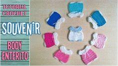 Souvenir a crochet para baby shower MINI GORRITO, paso a paso - YouTube