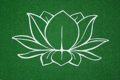 lotus flower tattoo.