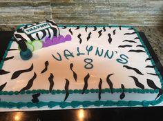 Spa party birthday cake