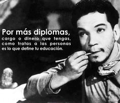 "MARIO MORENO ""CANTINFLAS"" Book Quotes, Life Quotes, Learning Quotes, Different Quotes, Sweet Quotes, Sweet Words, Spanish Quotes, Amazing Quotes, Sentences"