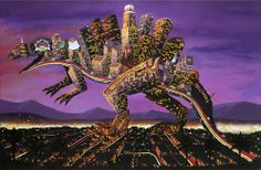 Urban Dinosaurs by Andy Council - Neatorama