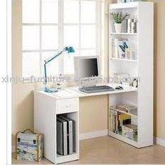 escritorio de la computadora con librería-Demás muebles de madera-Identificación del producto:356144675-spanish.alibaba.com