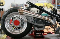 """GOJIN GY6 EXHAUST SYSTEM 7"""""""