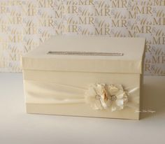 Wedding Card Box Card holder Money Box - Custom Made to Order
