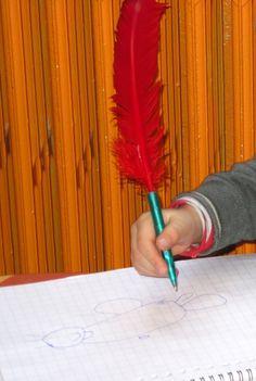 De echte pen van Sinterklaas...