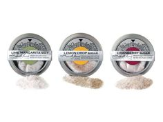Cocktail Rimming Salts and Sugars. The finest ingredients - Pure cane sugars, sea salts, real fruit spices, and natural flavorings. Together, they create the perfect accent to your cocktails.