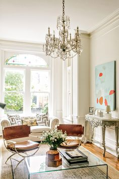 A Victorian Townhouse in the City – Lauren Liess Classic Home Decor, Classic House, Classic Interior, Lauren Liess, Old Wood Floors, Victorian Townhouse, Grey Kitchen Cabinets, Vintage Modern, Modern Victorian