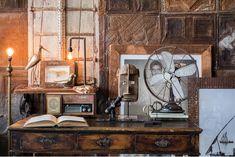 The Explorer's Study > Amatuli Interior And Exterior, Living Spaces, Study, Explore, Cabinet, Storage, House, Inspiration, Furniture