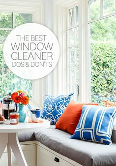The Best Window Cleaning Do's and Don'ts