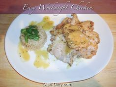 Easy Weeknight Chicken Recipe by Dish Ditty