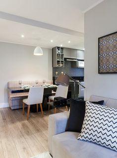 Ficou #saladeestar #saladejantar e #cozinha tudo em um só ambiente! Como fazer para isso funcionar? Veja no #simplesdecoracao