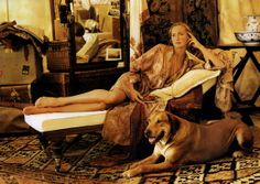 "Ralph Lauren Home Archives, ""Safari"" collection, Bedroom detail, Spring, 1990"