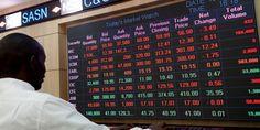 Nairobi Securities Exchange staff monitors trading. PHOTO | FILE
