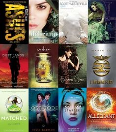 11 Dystopian YA book series recommended for fans of 'Divergent' to read after finishing 'Allegiant.'
