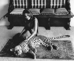 0 lana wood with a leopard