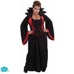 Disfraz De Vampiresa Deluxe Talla Grande Exu Figuras