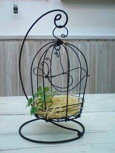 本日のcraft cafeはワイヤークラフト bird cage