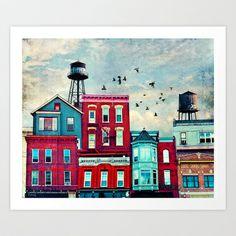 A North Avenue Art Print by Tim Jarosz - $17.68